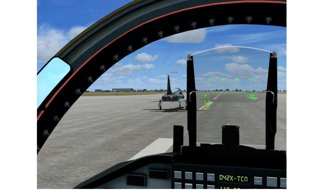 Detaillierte Cockpits sind eine Selbstverständlichkeit.