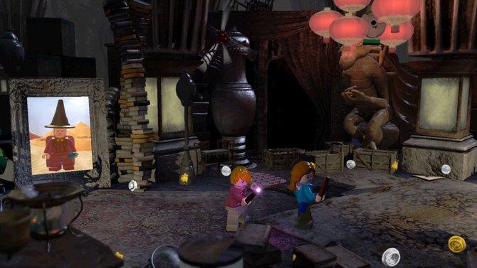 Nutzt in LEGO Harry Potter den geteilten Bildschirm, wenn ihr zu zweit voneinander entfernt seid.