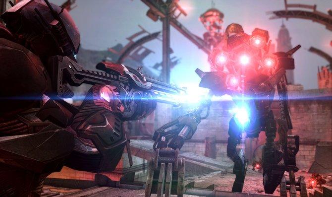 Bei Defiance handelt es sich um einen Online-Shooter, der an eine Fernsehserie gekoppelt ist.