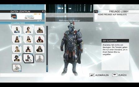 Der Gladiator ist ein Metzelmann, wie er im Buche steht.