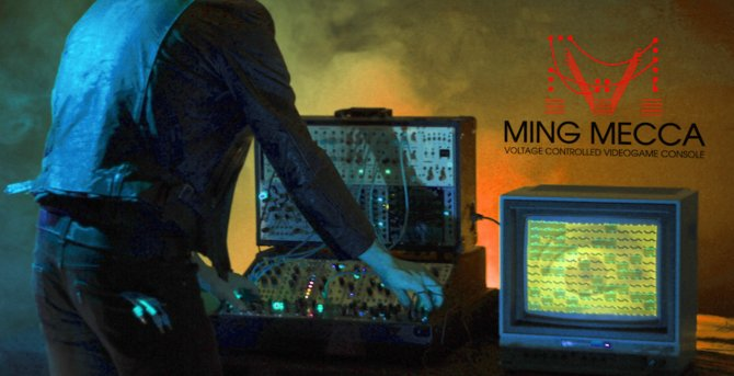 Ming Mecca: Kein Musik-Synthesizer, sondern eine abgedrehte Spielekonsole.