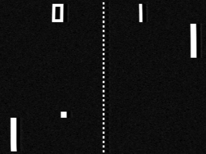 """Pong wird fälschlicherweise von vielen als das erste Videospiel bezeichnet. Dabei orientiert es sich an """"Tennis For Two"""" und dem Tennis-Spiel für das Magnavox Odyssey."""