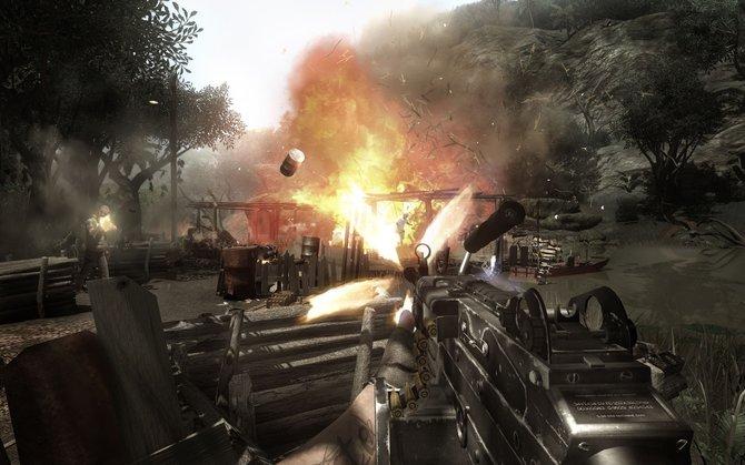 Far Cry 2 setzt stärker als der Vorgänger auf brachiale Action-Kost.