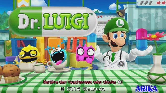 Mario hat frei - jetzt hat Dr. Luigi Bereitschaftsdienst!