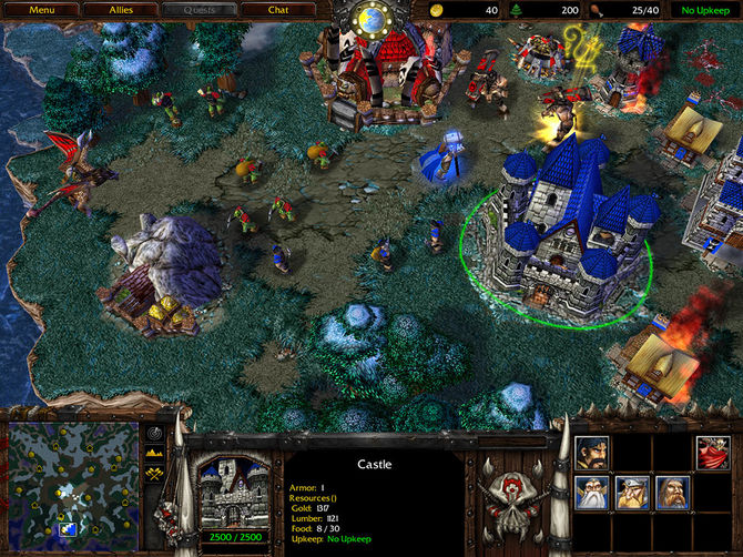 Скачать: WarCraft 3: Reign of Chaos + WarCraft 3: The Frozen Throne
