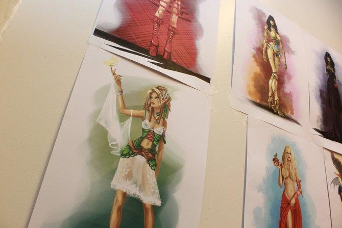 In Belgien begrüßten uns die Divinity-Macher in ihrem Studio (links). Hier ...