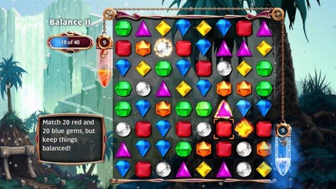 Schon seit Jahren begeistert Popcap mit den Bejeweled-Spielen.