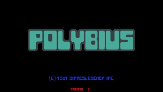 """Auffällig ist die Firma, die Polybius herstellt. Sie heißt """"Sinnesloschen inc.""""."""