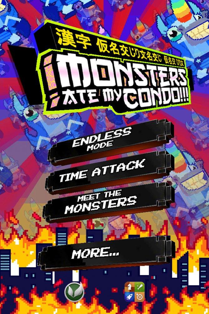 Der Startbildschirm mit den zwei Spielmodi.