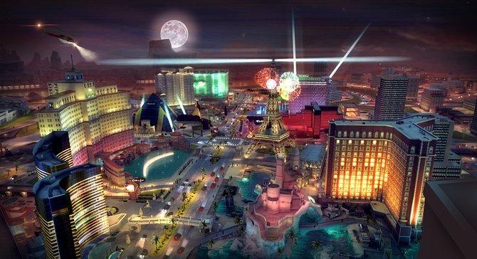 In Gangstar Vegas treibt ihr in der Stadt der Sünde, Las Vegas, euer Unwesen.