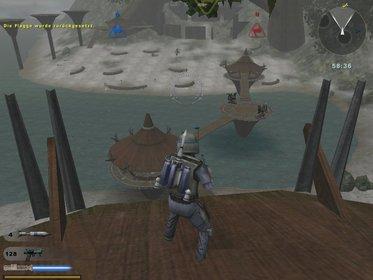 Battlefront 2 (2005, PC/PS2/Xbox): Ihr könnt im zweiten Teil bekannte Helden aus den Filmen spielen, wie hier Jango Fett.