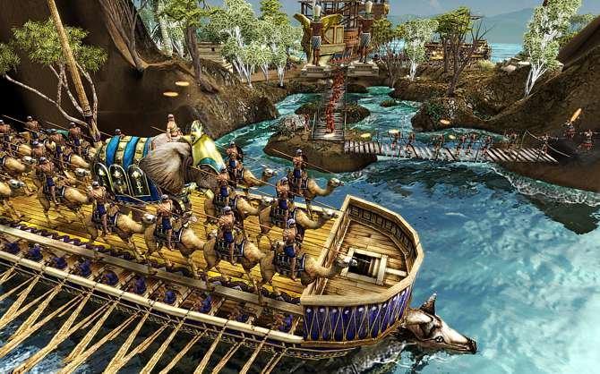 Seeschlachten gab es auch schon im ersten Age of Empires. Aber was bei ...