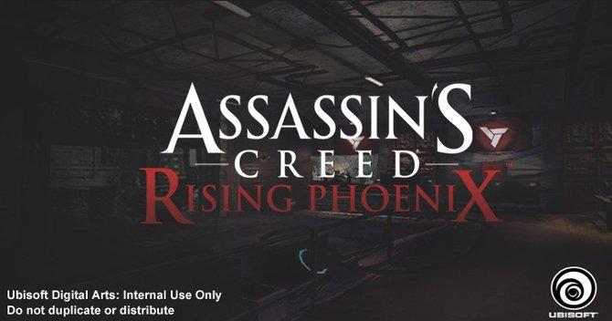 Ubisoft Digital Arts hat dieses mysteriöse Bild zu Assassin's Creed - Rising Phoenix veröffentlicht.