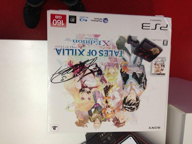 Als Hauptpreis winkt eine vom Chefentwickler Hideo Baba signierte PS3 plus Tales of Xillia.