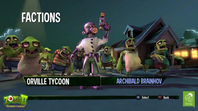 Wen wollt ihr spielen? Die langsamen grünen Zombies, oder ihre blauen Kollegen?