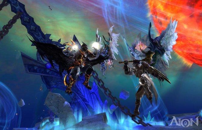 """Kämpfe gibt es in Aion ab Februar 2012 völlig kostenlos: Das Online-Rollenspiel wird auf """"Free-to-Play"""" umgestellt."""