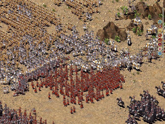 Stronghold Crusader Extreme: прохождение, коды, скачать патчи.