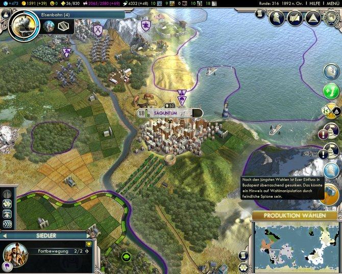Die Erweiterung Gods & Kings integriert sich direkt ins Hauptspiel von Civilization 5.