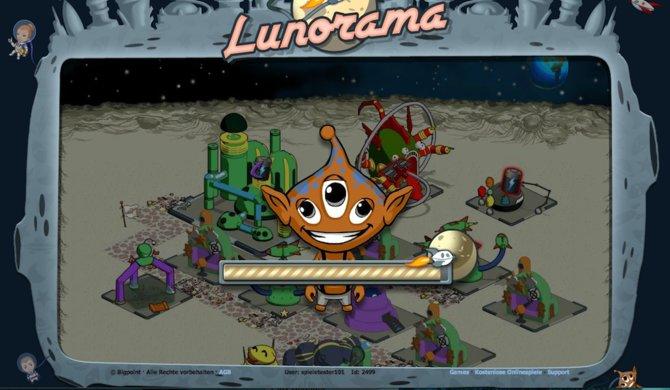 Lunorama findet seinen Schauplatz auf dem Mond und ist eines der Ergebnisse ...