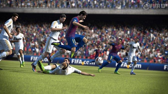 FIFA 13 überzeugt durch die erhöhte Spielgeschwindigkeit ...