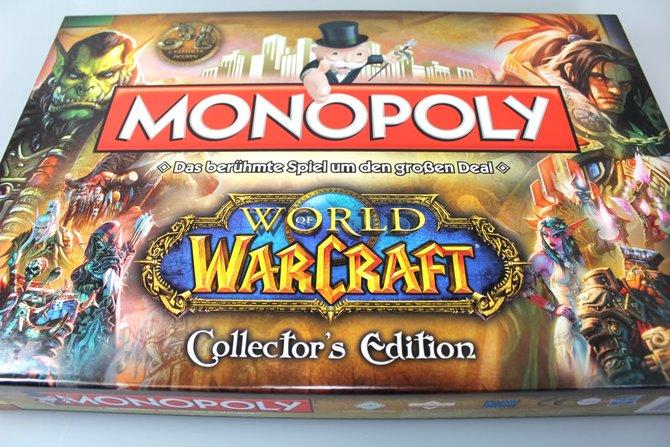 Zu gewinnen gibt es: Monopoly World of Warcraft Collector's Edition ...