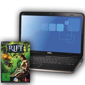 Unser heutiger Hauptpreis ist ein leistungsstarkes Spiele-Notebook von Dell inklusive dem Online-Rollenspiel Rift.