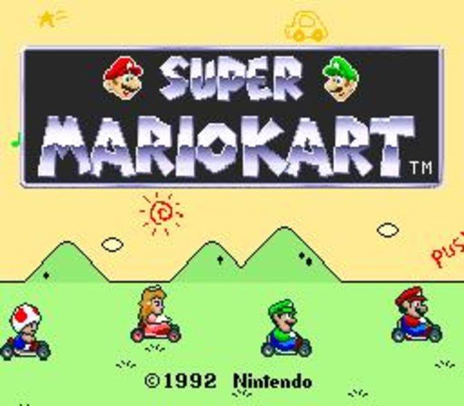 Die Mutter aller Funracer: Mit Super Mario Kart ...