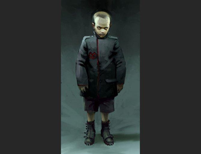 So sah der künftige Imperator der Helghast als Kind aus.