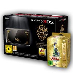 Heute könnt ihr als Hauptpreis ein Nintendo-3DS-Bundle mit einem 3DS im Zelda-Design, Ocarina of Time 3D und Skyward Sword für Wii absahnen.