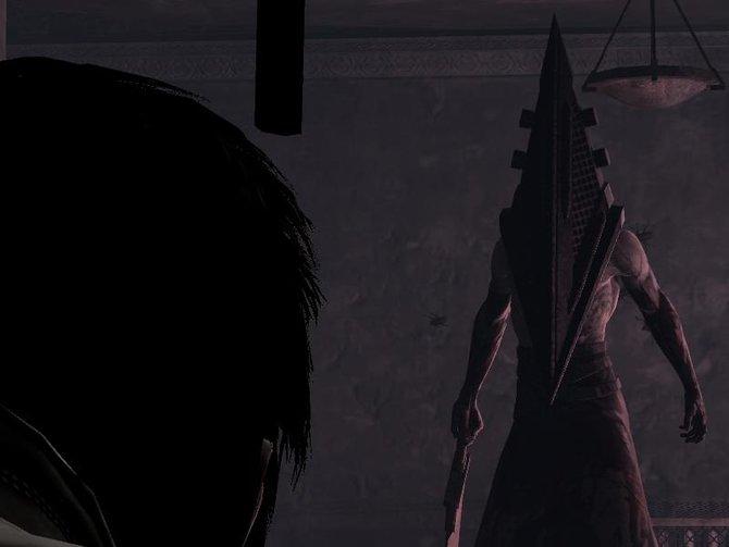 """Auch im Ableger """"Homecoming"""" von Silent Hill trefft ihr auf Pyramide Head."""