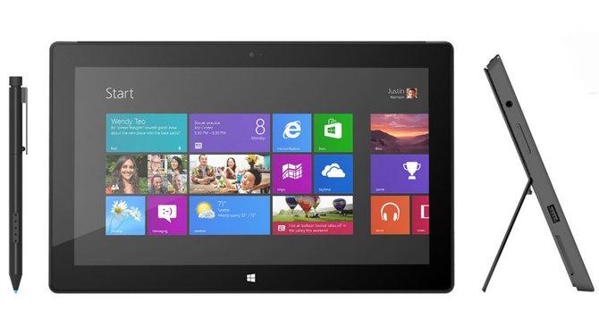 Mit der Pro-Version schiebt Microsoft ein Surface-Tablet mit ausgewachsener Intel-Hardware hinterher.