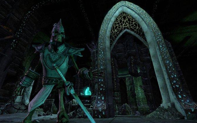 Dieses Skelett könnte Skyrim-Spielern bekannt vorkommen - stammt aber aus The Elder Scrolls - Online.