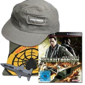 Als Hauptgewinn gibt es heute Ace Combat - Assault Horizon für PS3 und ein tolles Fanpaket mit stylischer Mütze und T-Shirt.
