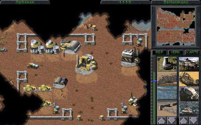 """Das erste Command & Conquer erscheint im Jahr 1995 und trägt den Beinamen """"Der Tiberiumkonflikt""""."""