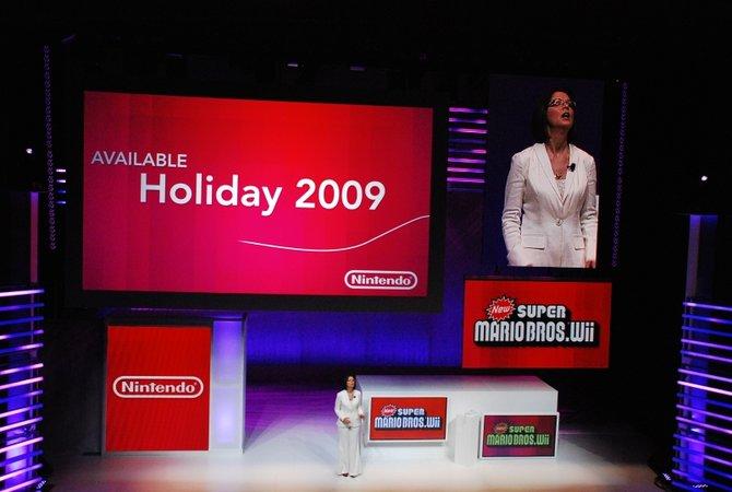 Die Nintendo-Konferenz wurde geführt von den bekannten ...