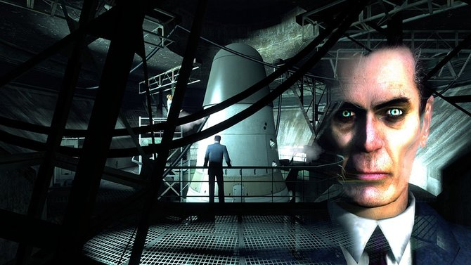 G-Man ist ein mysteriöser, nicht spielbarer Charakter aus Half-Life, der in den Spielen immer mal wieder auftaucht.