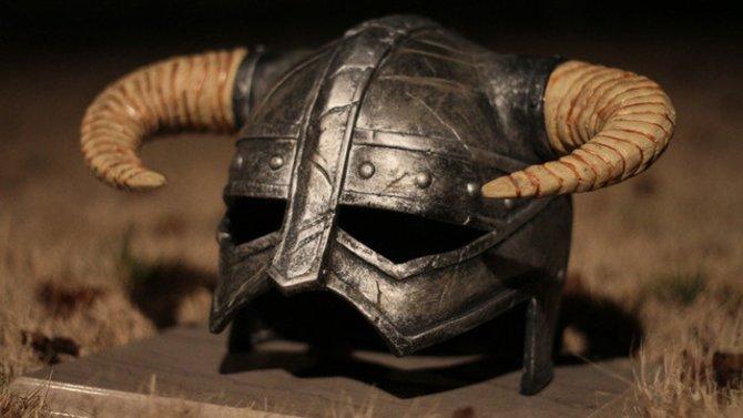Der Helm sieht wirklich sehr echt aus.