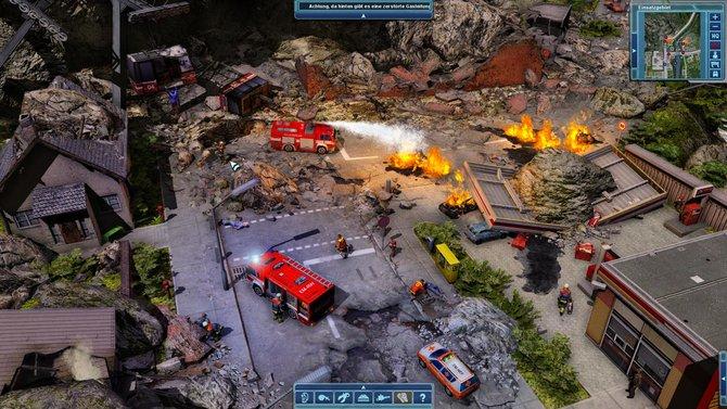 Eine der Hauptaufgaben: Brandbekämpfung.
