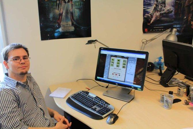 Mathäus Glinkowski von Gamigo stattete der spieletipps-Redaktion einen Besuch ab.