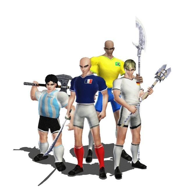 Maradona, Zidane, Ronaldo und... na, erkennt ihr ihn?