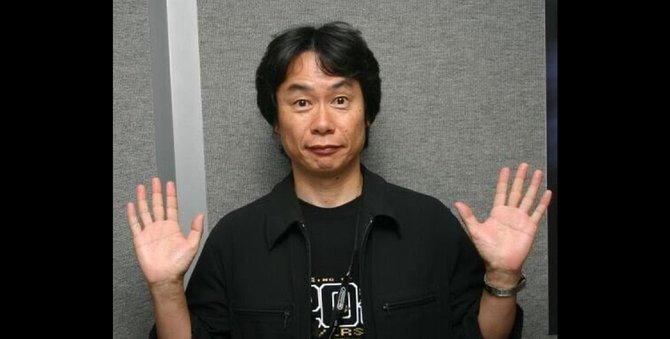 Mario-Erfinder und Nintendo-Urgestein Shigeru Miyamoto.