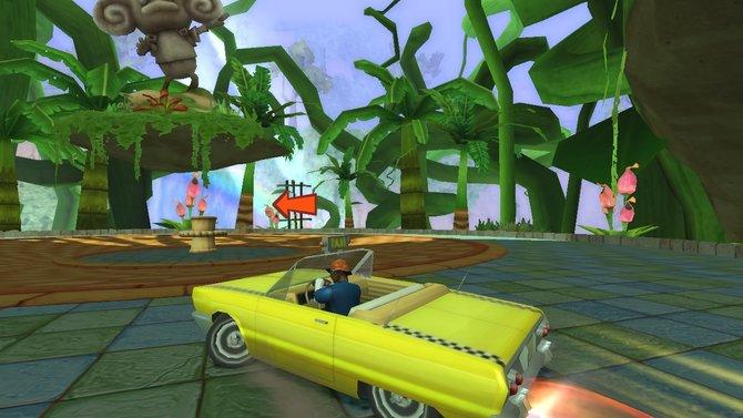Crazy Taxi lässt grüßen.