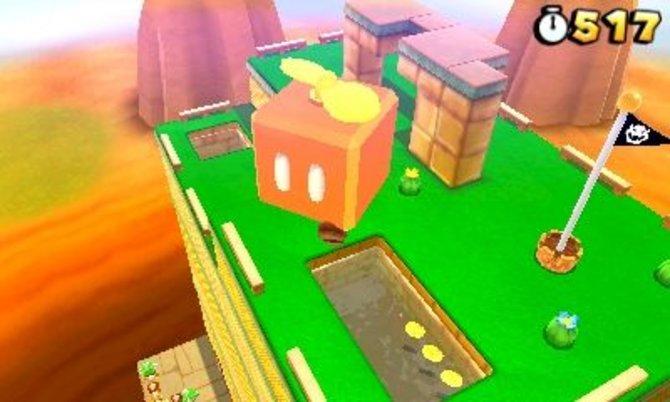 Auch neue Mario-Spiele wie New Super Mario Bros. Wii haben für Super Mario 3D Land Pate gestanden.