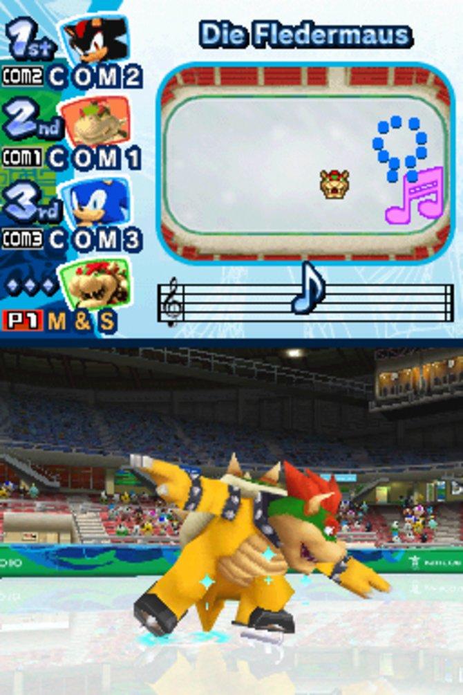 Mario & Sonic - Olympische Winterspiele: Bowser - eine Grazie auf dem Eis