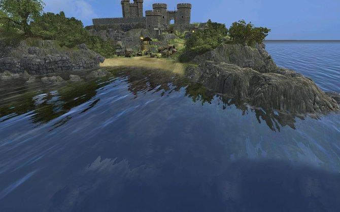 Nah am Wasser gebaut: In Stronghold 3 seid ihr der Herr in eurer Burg.