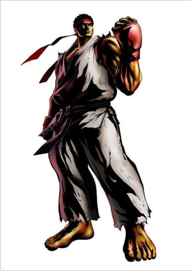 Vorzeigekämpfer Ryu stellt sich seinen Gegnern
