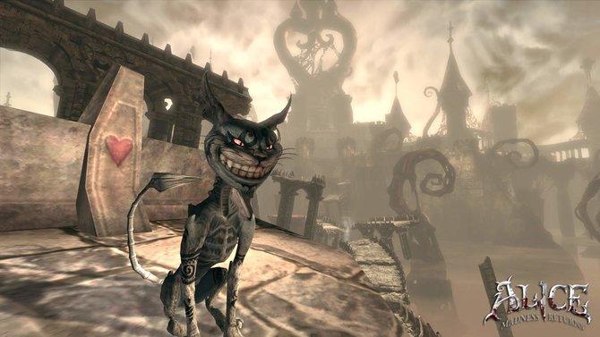 Alice - Madness Returns: Der berühmte lachende Kater zeigt hier sein bösestes Lächeln.