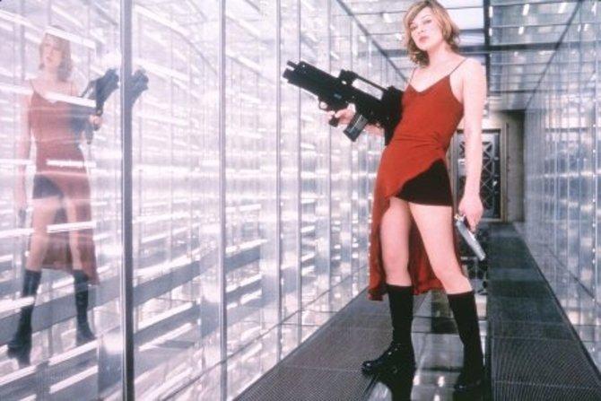 Resident Evil kam 2002 in die Kinos. Die Protagonistin ist Alice, gespielt von Milla Jovovich...