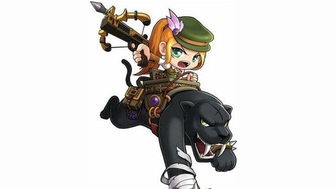 Der Wilde Jäger kommt mit Reittier und magischem Bogen daher.