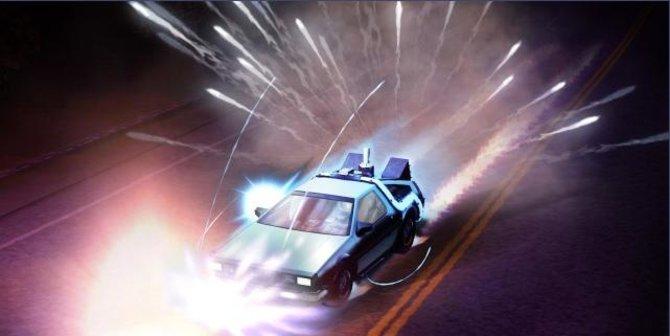 Der weltberühmte DeLorean